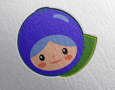 Kawaii logo design for Blobaer