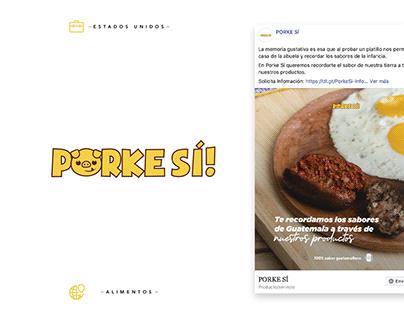 Porke Sí - Social Media
