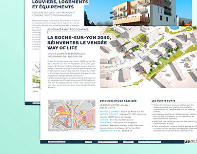 Fiches projets Urban Act