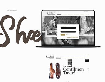 Siltab Shoes Web Design