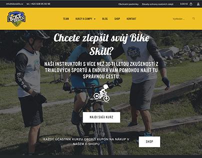 bikeskills.cz - 2020 design with animations
