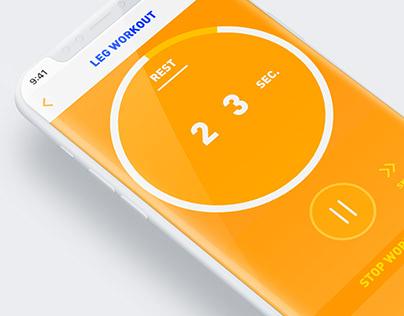 Exercise Timer App