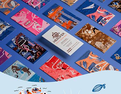 Herůfek chocolates, packaging redesign