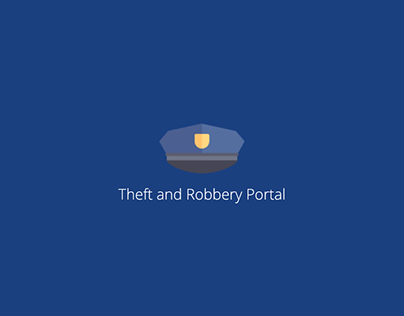 Theft Portal Web & Mobile Design Concept