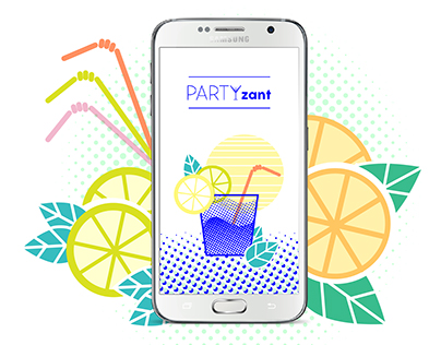 PARTYzant - aplikacja mobilna