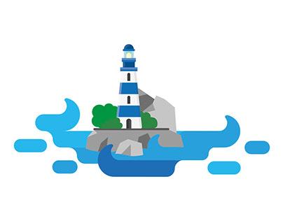Lighthouse | Illustration