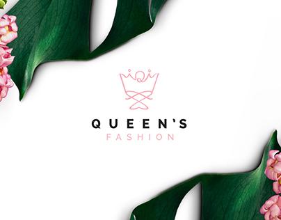 Queen's Fashion Logo Design