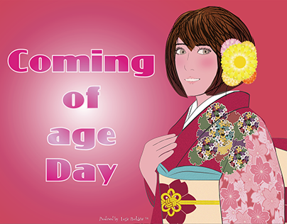 Coming of Age Day 日本の成人式
