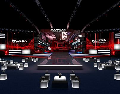 Honda Car Launch - Concept Design