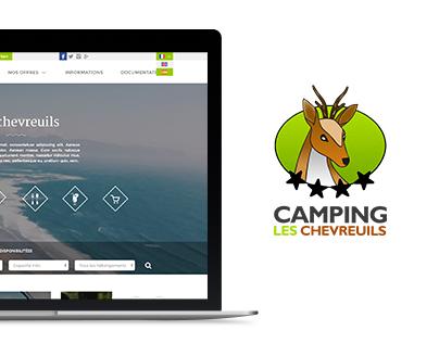 Webdesign - Camping les Chevreuils