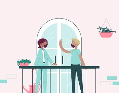 Family Values Illustration System for Blush