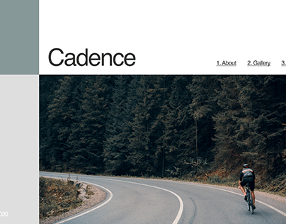 Cycling Web Design Concept