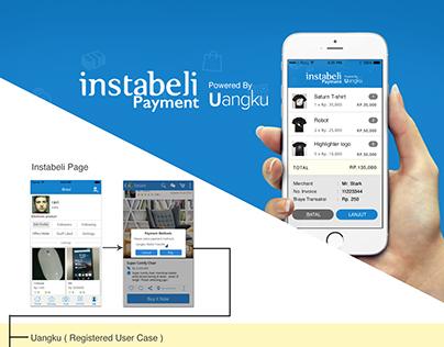 Instabeli co-branding payment method app