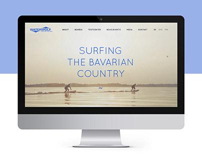 Waterwolf / E-Surfer / Webdesign