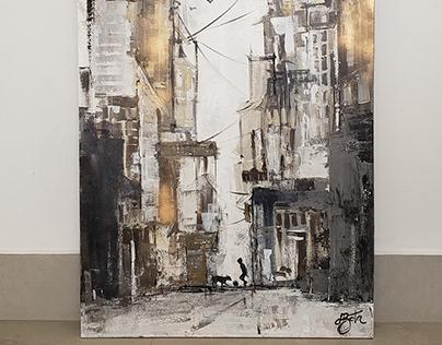 Friendship 80x160cm - Acrylic on Canvas