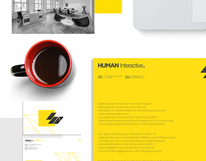 Human Interactive Corporate Identity - 2015 project
