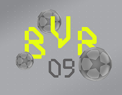 Borussia Dortmund - Typography - 1997