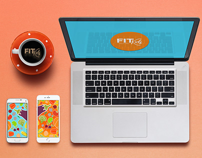 Fit Kids - Logo & Stationery Design