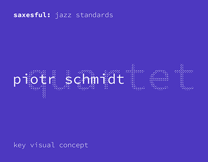 Piotr Schmidt Quartet – Tour Key Visual concept