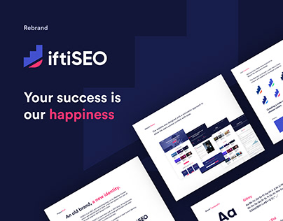 iftiSEO - Rebrand/Branding & Website Design