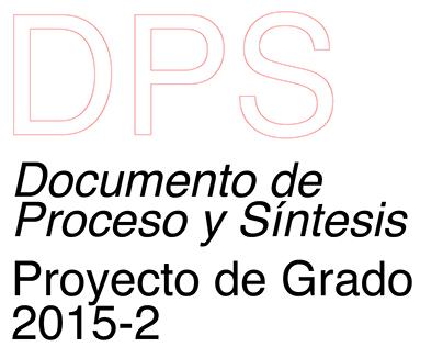 (2015-2) Documento de Proceso y Síntesis.