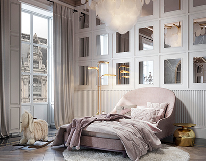 GIRLS DREAM BEDROOM