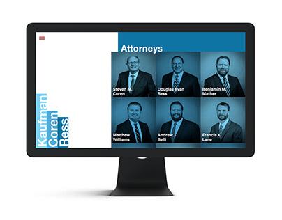 Kaufman Coren & Ress Branding & Website Design