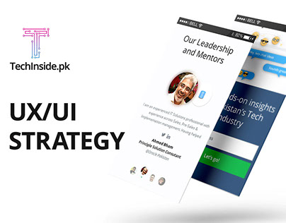 UX/UI Strategy | TechInside.pk