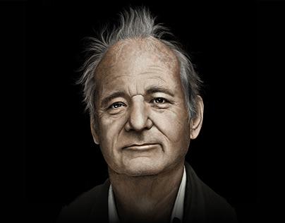 Bill Murray - Digital Illustration