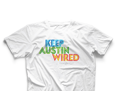 Google Fiber - Keep Austin Wired T-shirt