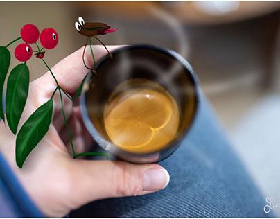 Usta and Bica coffee plants