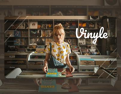 UI/UX Design - Vinyle