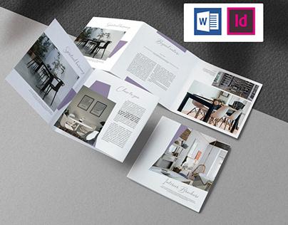 Interior Brochure Indesign Project