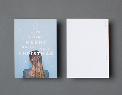 KUMA STUDIO // Christmas Postcards