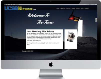 UCSB Ski & Snowboard Team