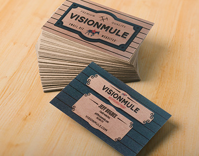 My VisionMule Business Card