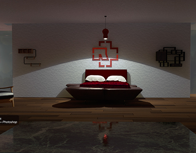 Cinema 4D The Room Project
