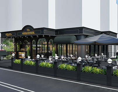 The ONLY BLACK Cafe design project