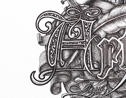 CALLIGRAPHY & LETTERING COLLECTION #1