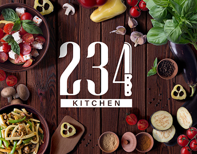 Logo design for 234 KITCHEN
