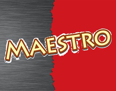 Maestro Restaurant Menu Design