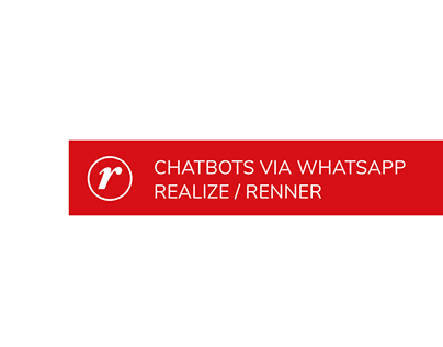 Chatbots WhatsApp Realize/Renner (2020)