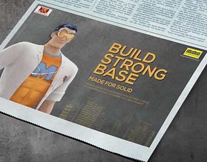 Ultratech cement [Press ads]