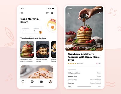 Recipe Sharing Mobile App