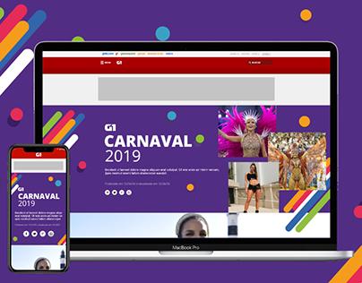 Interface Carnaval G1 (UI)