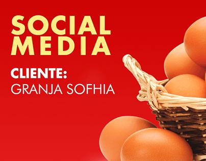 Social Media-Cliente Granja Sofhia