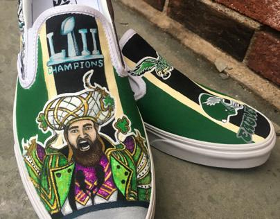Vans Custom Shoe Design - Philadelphia Eagles