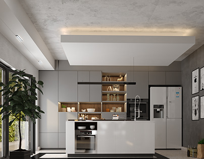 Modern Interior Of Simple House