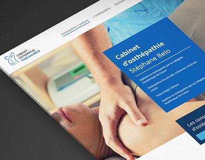 Web design site Cabinet d'ostéopathie