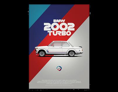 BMW 2002 turbo (Texaco version) poster